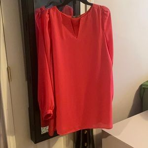 5/$25 Tinley Road L blouse pink